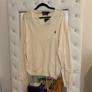 NWT Men's Polo by Ralph Lauren V Neck Sweater